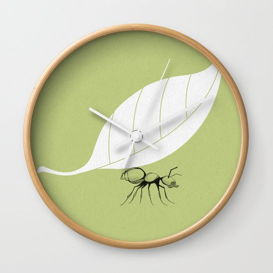 The Guide to Gentlemanly Pursuits Wall Clock