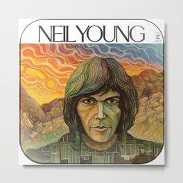 neil young album 2020 atinum4 Metal Print