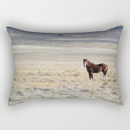wild horse II Rectangular Pillow
