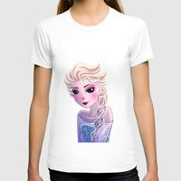 frozen elsa T-shirts featuring Elsa Frozen by Kaori