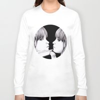 mirror Long Sleeve T-shirts featuring MIRROR by Dianah B