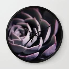 DARKSIDE OF SUCCULENTS II Wall Clock