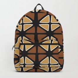 Mud cloth diamonds Backpack