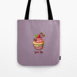 Raspberry muffin Tote Bag