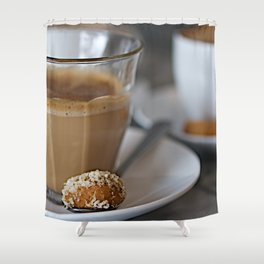 CoffeeCups Shower Curtain