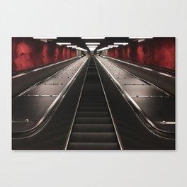 Undergound bound Canvas Print
