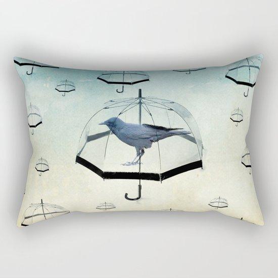 raven rain Rectangular Pillow