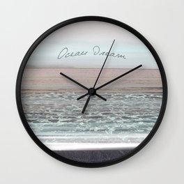 Ocean Dream II Wall Clock