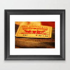 wear your style Framed Art Print