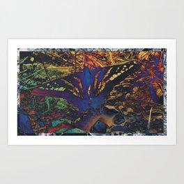 Butterfly Trance Art Print