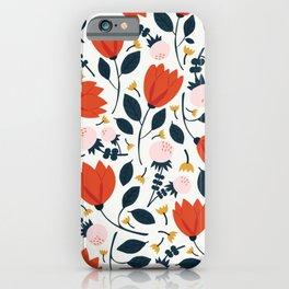 Floral Medley iPhone Case