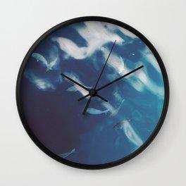 Fledglings and Ripples Wall Clock
