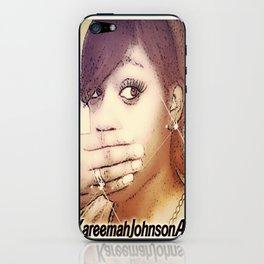 Kareemah-Johnson-Art iPhone Skin