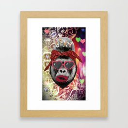 Just Call Me Sexy Framed Art Print