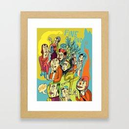 (Fine and) Dandy Framed Art Print