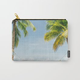 Palm trees, hammock Carry-All Pouch