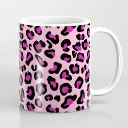 Leopard-Pink+Black+Purple Coffee Mug