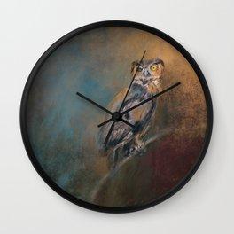 One Eye On You Wall Clock