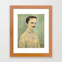 Stars of the Southern Sky Framed Art Print