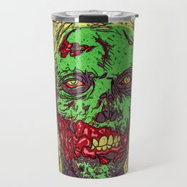 Zombie. Green, sweet and dead! Travel Mug