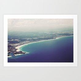 Gold Coast Art Print