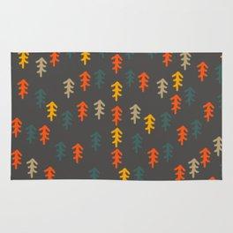 Little Christmas trees Rug