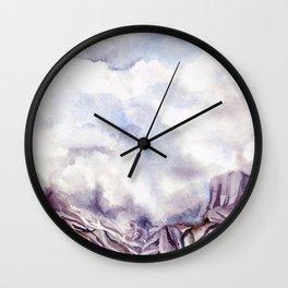 Into the Fog Wall Clock
