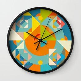 Canaima - Colorful Decorative Abstract Art Pattern Wall Clock