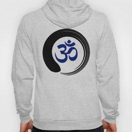 Namaste Zen Circle Meditation Prayer Ohm Aum Om Oum Peace Tai Chi Taiji Hoody