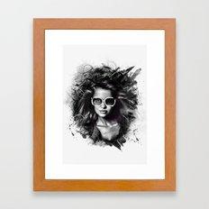 Electro Dreamer Framed Art Print