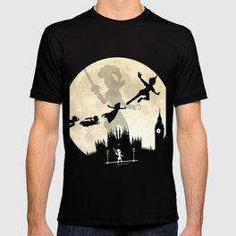 Peter Pan FullMoon Over London T-shirt