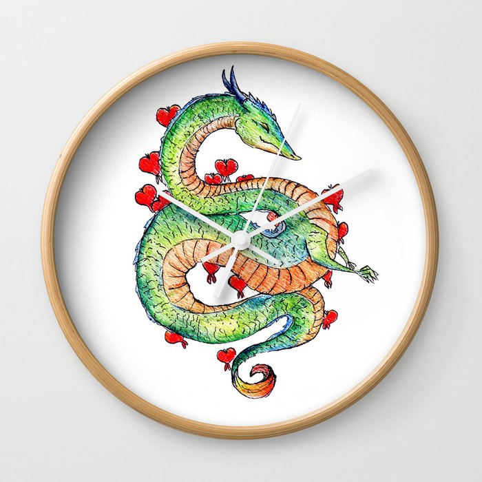 Chinese Zodiac: Dragon Wall Clock