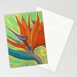 Strelitzia / Bird of Paradise Stationery Cards