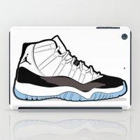 "air jordan iPad Cases featuring Air Jordan XI Retro ""Concord"" by Graphkicks"