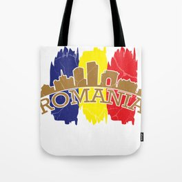 Romania gift Bucharest Transylvania Romanian Tote Bag