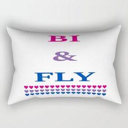 Bi & Fly Rectangular Pillow