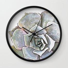 Succulent N.3 Wall Clock