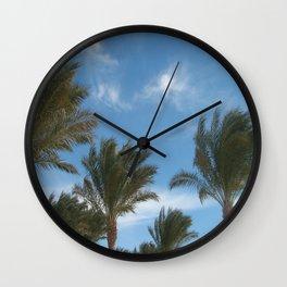 N.A. Palm 1 Wall Clock