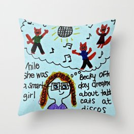 Benevolent Becky  Throw Pillow