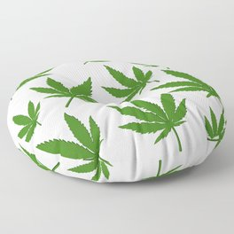 Weed Leaf Floor Pillow