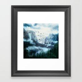 Mountain Morning 3 Framed Art Print