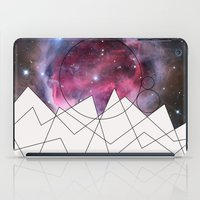 outer space iPad Cases featuring Outer Space by FlurinaJT
