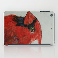 cardinal iPad Cases featuring Cardinal by Michael Creese