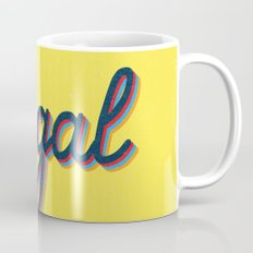 Illegal - yellow version Mug