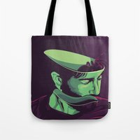 movie poster Tote Bags featuring Enemy - Alternative movie poster by FourteenLab