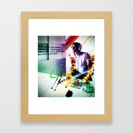 """spin me"" Framed Art Print"