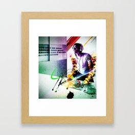 """""""spin me"""" Framed Art Print"""