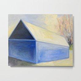 Blue Barn 16 Metal Print