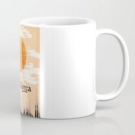 Korean Setting sun block art Coffee Mug