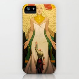 A goddess of his own iPhone Case